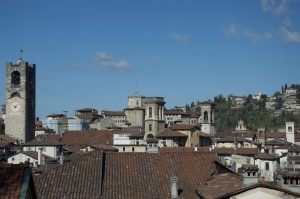 Bergamo_Dächer